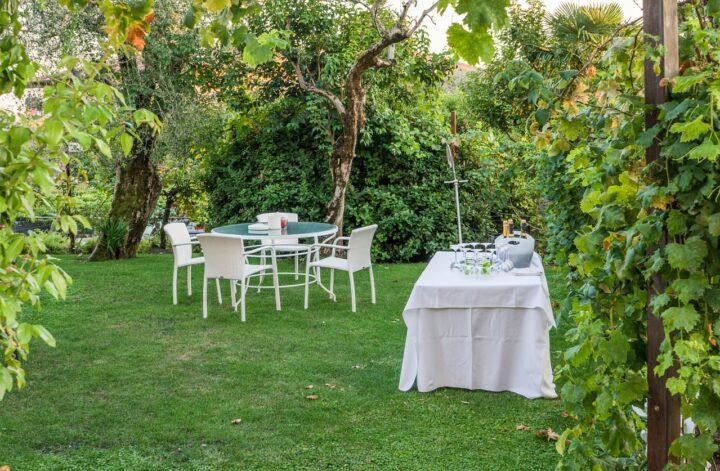 Party im Garten